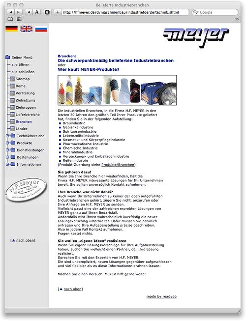 hfmeyer.de bis Juni 2009 online